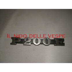 TARGHETTA LATERALE P200E