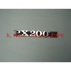 TARGHETTA LATERALE PX200E