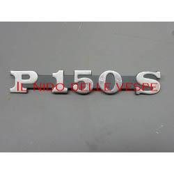 TARGHETTA LATERALE P150S