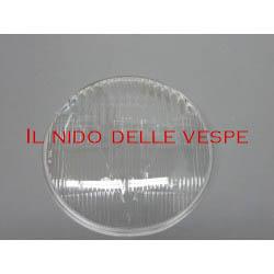 VETRO IN PLASTICA Ø 130 PER VESPA GTR,TS,SPRINT VEL. ,RALLY