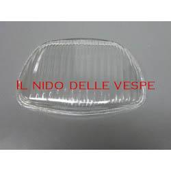 VETRO IN PLASTICA TRAPEZOIDALE PER VESPA GT,GL, SPRINT, 180 SS