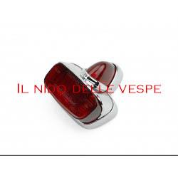 FANALE POSTERIORE PLASTICA CROMATA PER VESPA GS VS5,VBB,VNB1-5T,