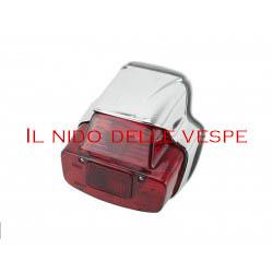 FANALE POSTERIORE PLASTICA CROMATA PER VESPA GL ,VNB6T,180 SS