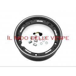 "CERCHIO VESPA COMPL 10 GL - PX - ET3 TUBELESS NERO"""