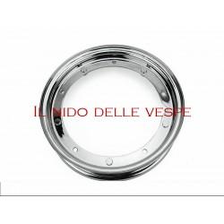 """CERCHIO CROMATO DA 10"""" PER VESPA 125 GTR,GTR,TS, 150 SPRINT, SPRINT VELOCE, RALLY 180, RALLY 200, PX 125-150-200, PE. ARCOBALENO"""