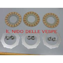 KIT COMPLETO DISCHI ACCIAIO+ MOLLE PER VESPA GS 150 VS2-5T