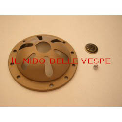 A COPERCHIO CLAXON VESPA 98 CON LOGO