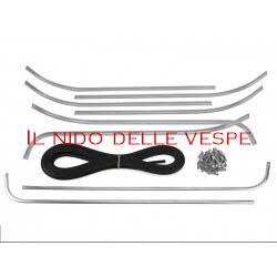 SERIE PROFILI PEDANA COMPLETI PER VESPA 125 VNB3-6T,VBB2T,SUPER