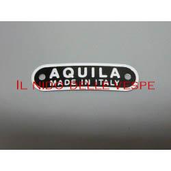 TARGHETTA SELLA AQUILA MADE IN ITALY