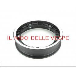 """CERCHIO VESPA COMPL 10 GL - PX - ET3 IN LEGA PX NERO"""""""