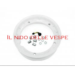 """CERCHIO VESPA COMPL 10 GL - PX - ET3 TUBELESS BIANCO"""""""