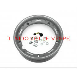 """CERCHIO VESPA COMPL 10 GL - PX - ET3 TUBELESS GRIGIO METALLIZZA"""""""