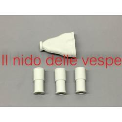 KIT GOMMINI FARO BASSO PER VESPA V30-33,VM 1-2,VN1-2,VL1-3