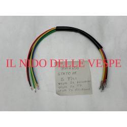CABLAGGIO STATORE VESPA PX ELETTRONICO,T5,ARCOBALENO 5 FILI STATORE