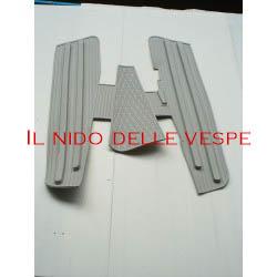 TAPPETO GRIGIO PER VESPA VNB,SUPER,GT,SPRINT,GL